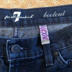7 For All Mankind Jeans - 7 For all mankind boot cut petite denim Jean